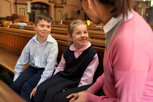 St Vincent's Catholic Primary School Ashfield Family and Faith